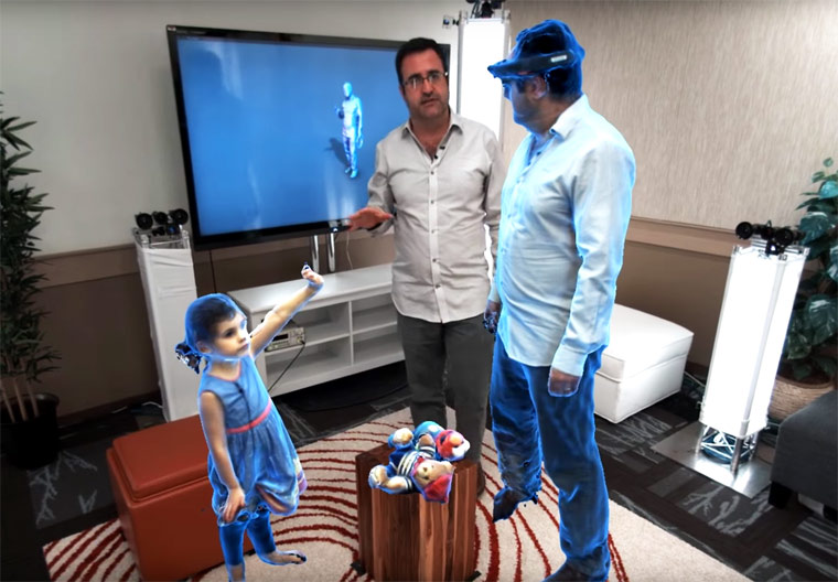 Holoportation: a bright future indeed