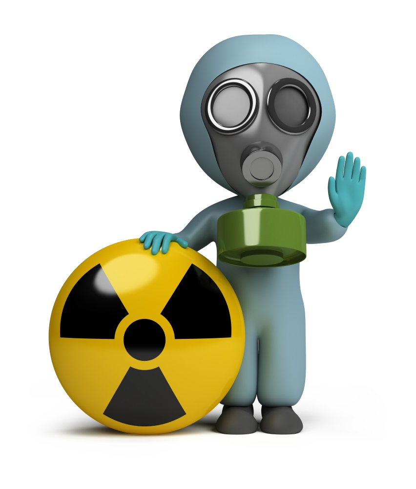 3d small - radiation