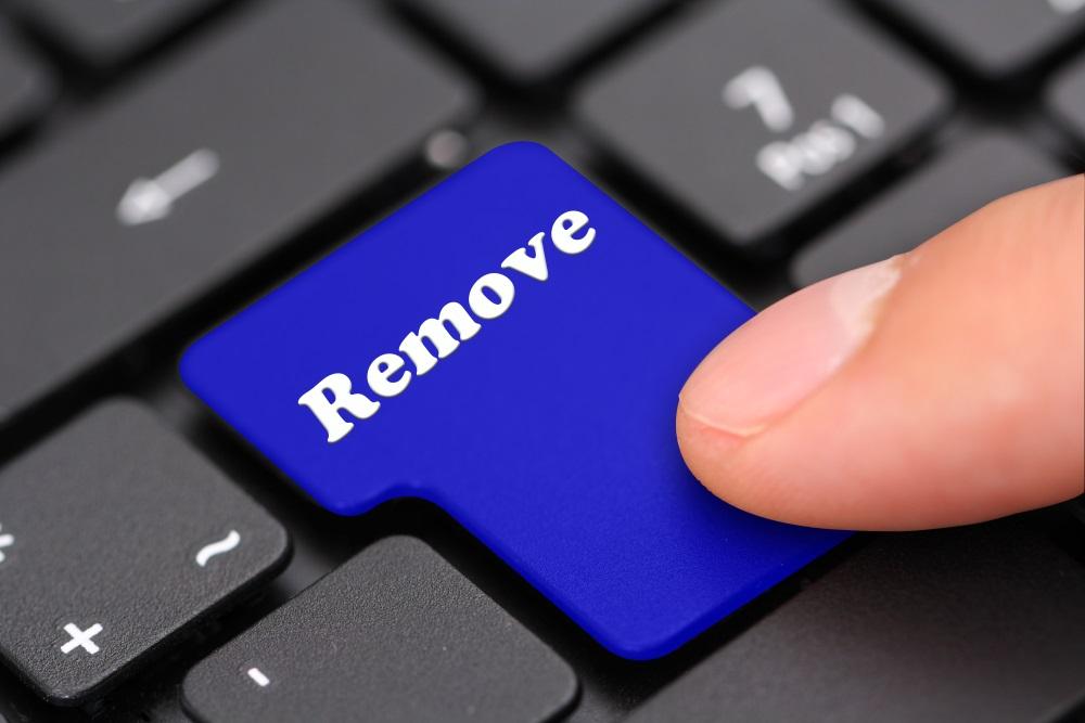 Remove keyboard