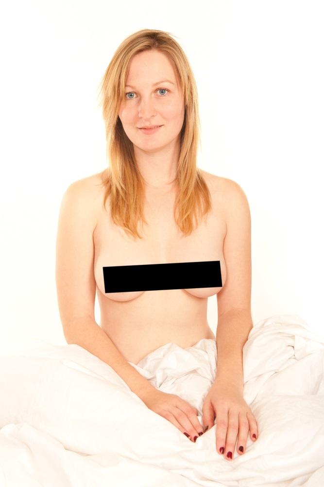 Censored nudity