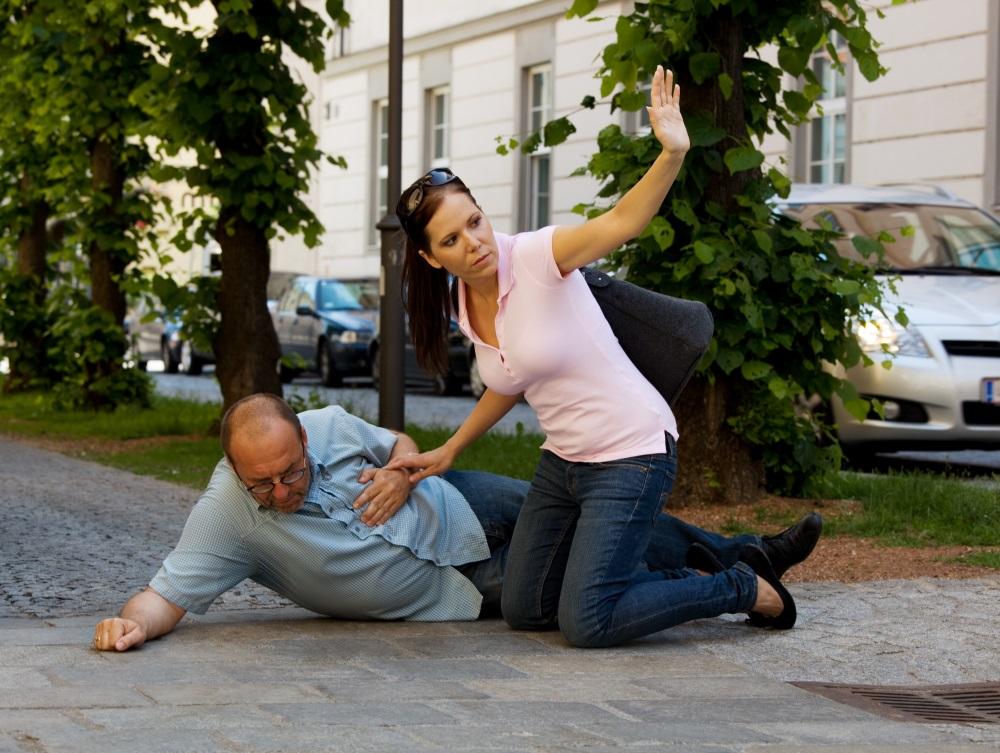 Husband has vertigo or heart attack