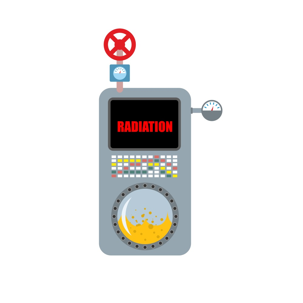 Dosimeter Instrument for measuring radiation